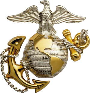 Eagle, Globe and Anchor - the United States Marine Corps