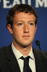 Mark Zuckerberg, founder of Facebook