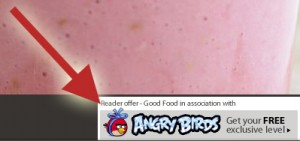BBC Good Food App: Angry Birds Code Offer