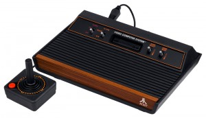 Atari 2600 with Joystick