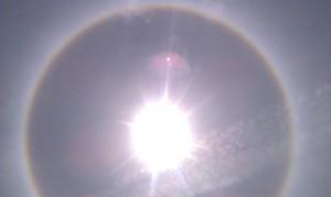 Halo Around the Sarasota Sun