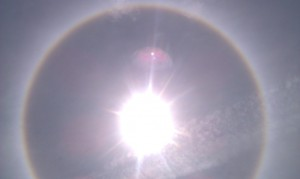 Halo Around the Sarasota Sun