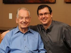 Tom Ziglar with his father, Zig Ziglar