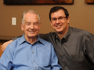 Tom Ziglar with his father, Zig Ziglar