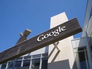 A building on the Google campus