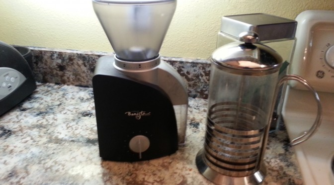 Starbucks Barista Burr Grinder with New Hopper