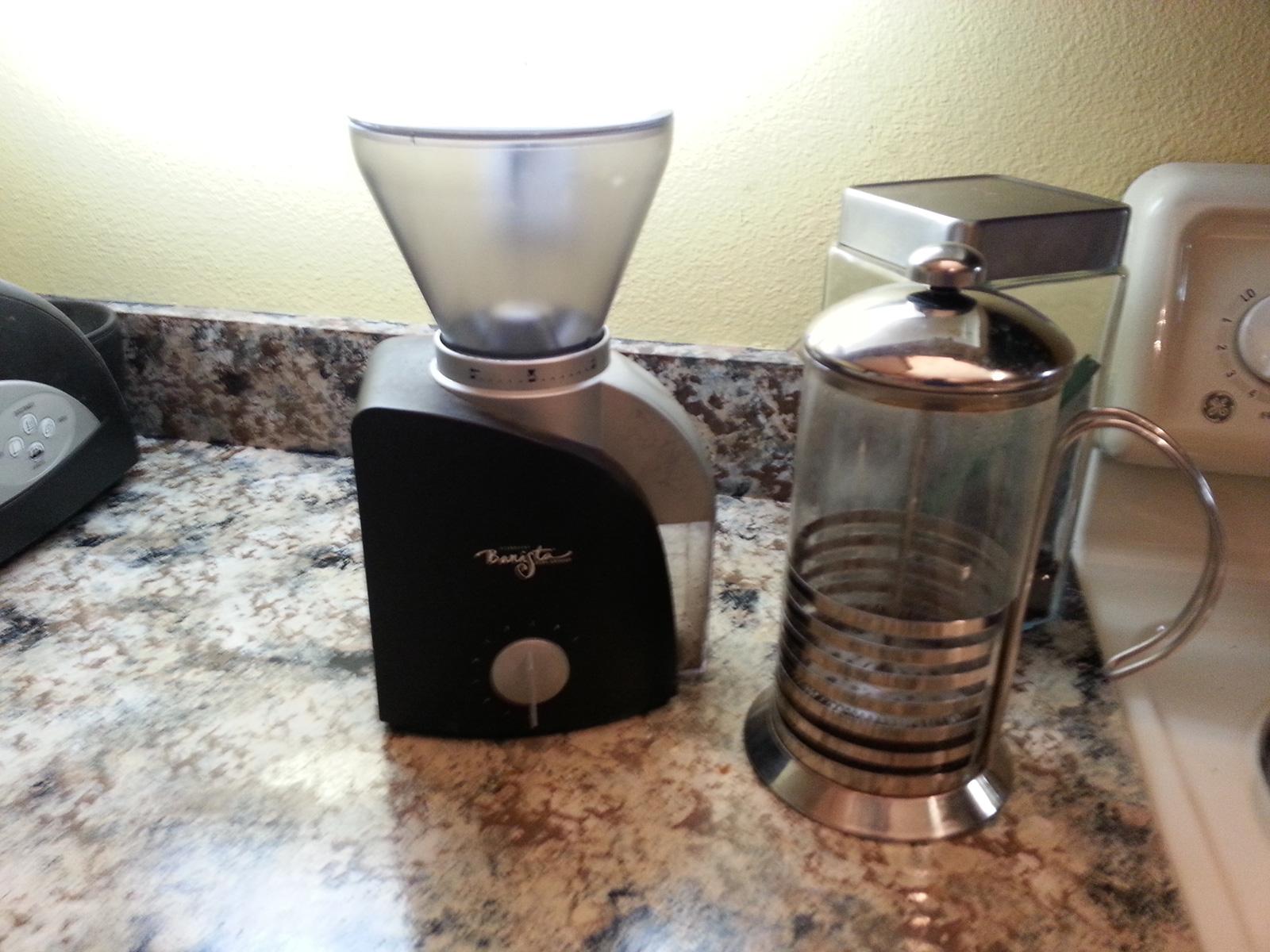 Starbucks Coffee Grinder ~ Replacement hopper for starbucks barista el grinder