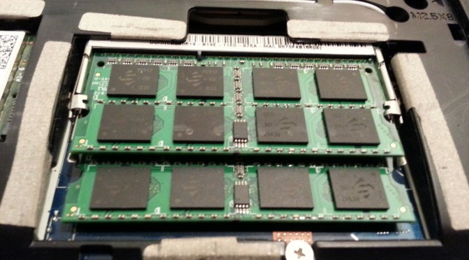 Gateway NV57h RAM Slot