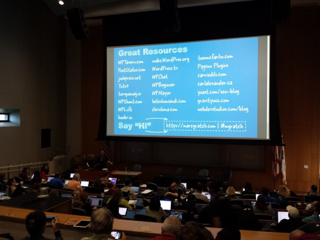 Resources Shared by Marc Gratch at WordCamp Miami 2016