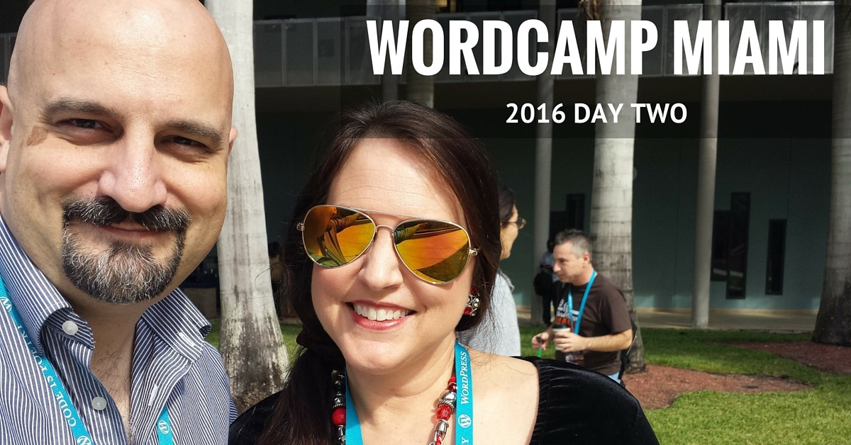 WordCamp Miami 2016: Day Two