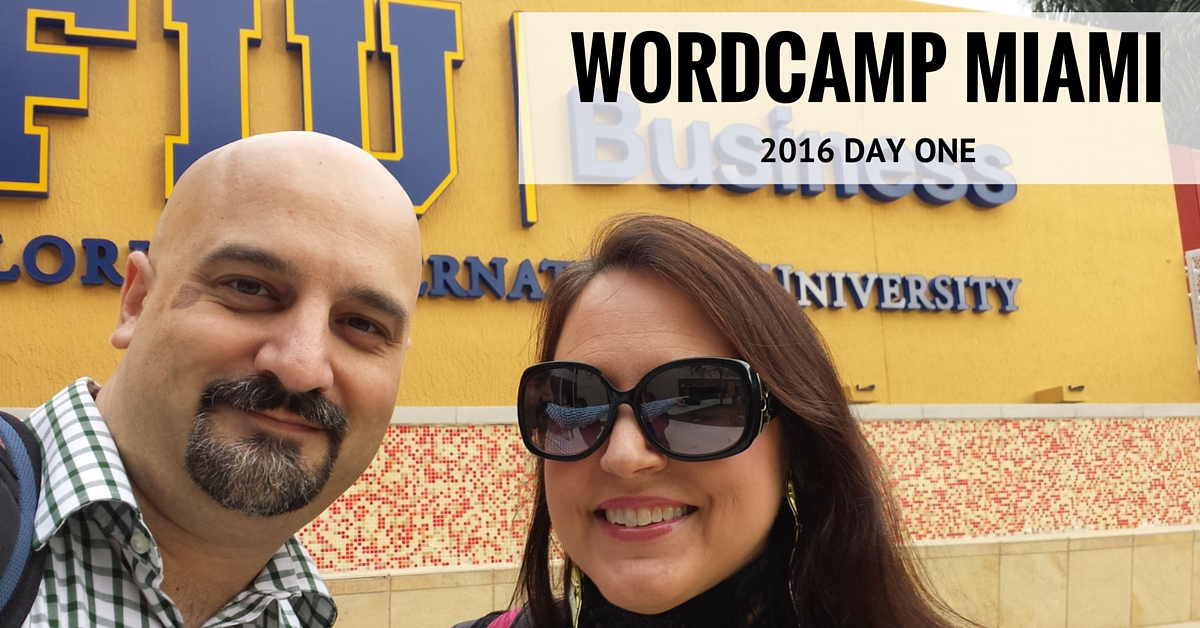 WordCamp Miami 2016 - Day One